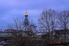 The Orthodox Church And Wooden...