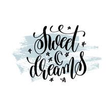 Sweet Dreams Hand Lettering In...