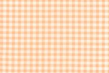 Tissu à Petits Carreaux Vichy Orange
