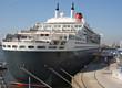 Queen Mary 2 im Hamburger Hafen