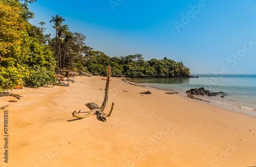 Fotografía West Africa Guinea Bissau Bijagos Islands - empty paradise beach