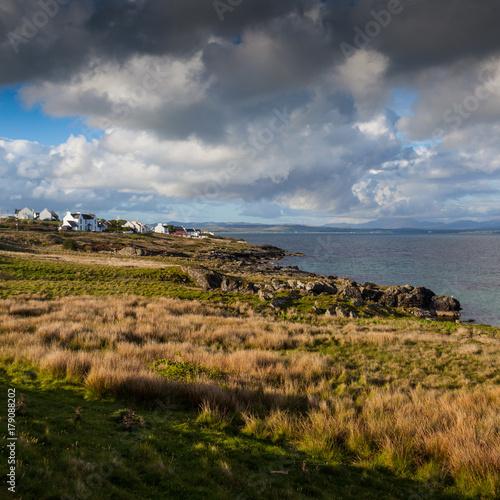 Road trip on Islay in Scotlandc Canvas Print