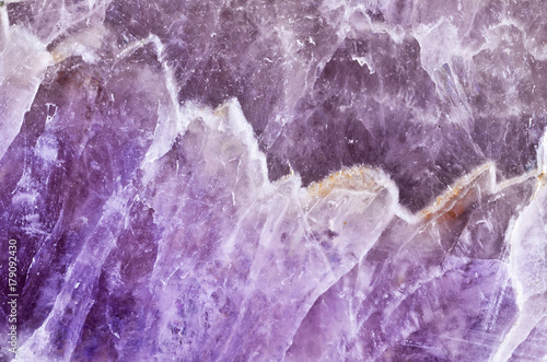 amethyst polished violet texture as nice natural background Wallpaper Mural