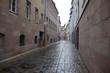 雨のニュルンベルク旧市街