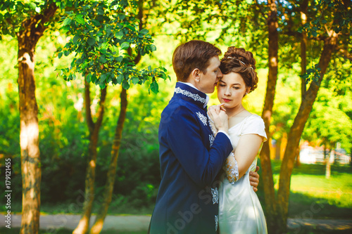 Photo Couple in beautiful suits