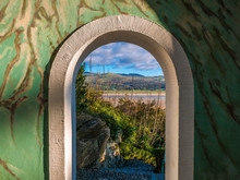View Of The Hills Beyond Portmeirion