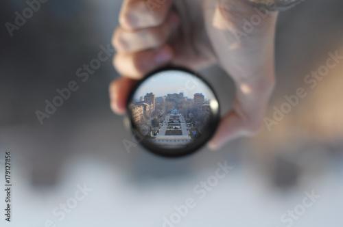 hand Fototapet
