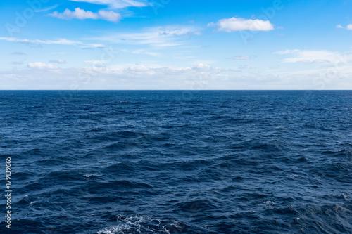 Foto op Aluminium Zee / Oceaan Cloudscape in the middle of Pacific