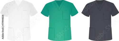 Fotografia Medical uniform. vector illustration