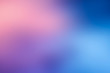 canvas print picture - blue pink blur  abstract background