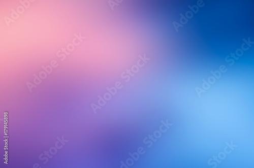 Valokuva blue pink blur  abstract background
