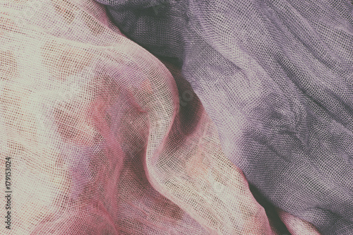 Tuinposter Stof Texture light fabric