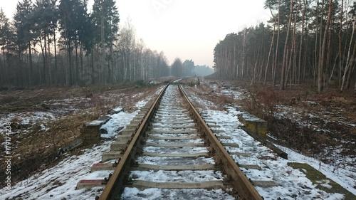 Fototapeta railway obraz