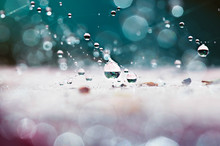 Suspended Droplets After The R...