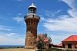 Palm Beach Sydney the Barrenjoey Lighthouse at the Tasman Sea, Australia