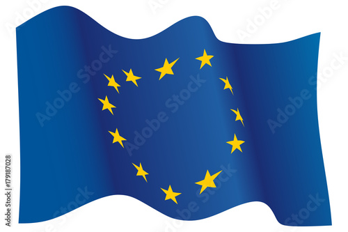 Obraz European Union flag - fototapety do salonu