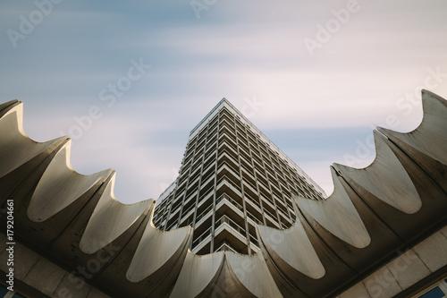 abstract skyscraper architecture
