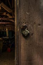 Shed Door Unlocked And Open