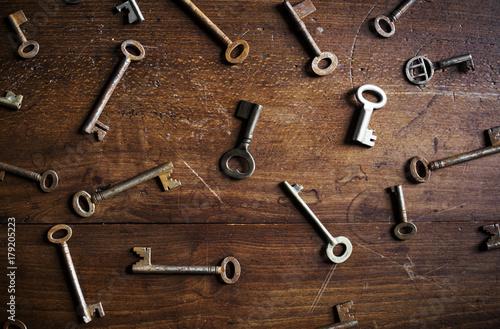 Foto  Keys on the table