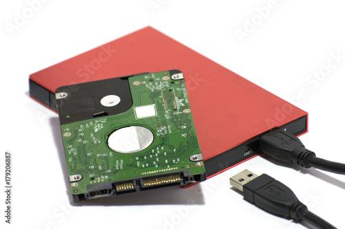 Fotografia  Laptop Hard disk 2
