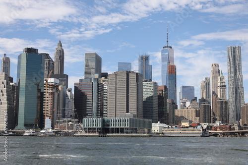 Obraz na dibondzie (fotoboard) Lower Manhattan Skyline