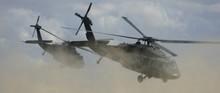 Blackhawks In Flight