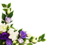 Corner Flowers Arrangement