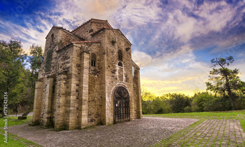 Fototapeta premium San Miguel de Lillo, asturyjski przedromański