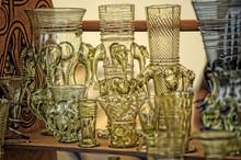 Unusual Vases And Wine Glasses...