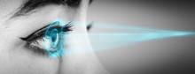 Hi Tech Biometric Security Scan