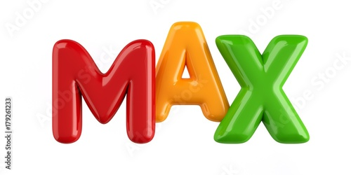 Photo  Bubbletext Name Max