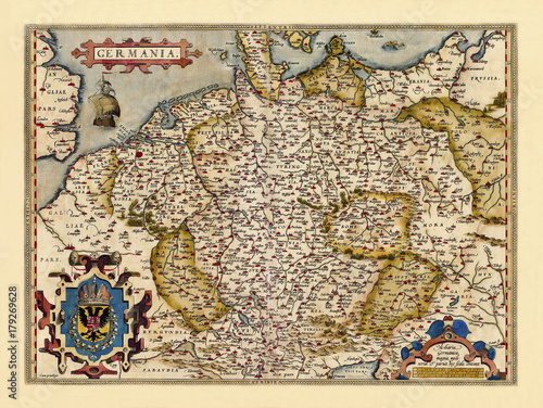 old-map-of-germany-excellent-state