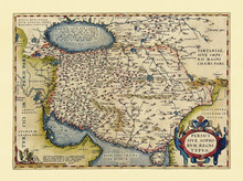 Old Map Of Persia. Excellent S...