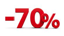 Red Minus Seventy Percent