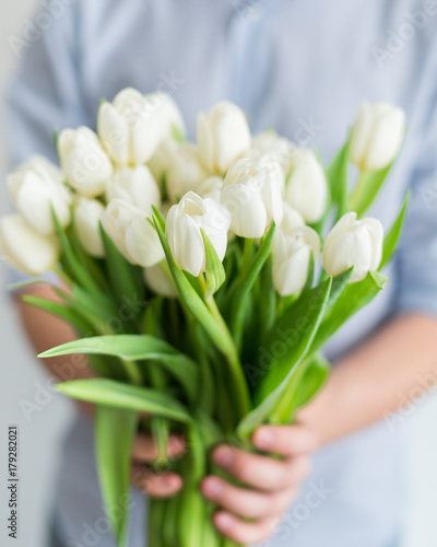 a-beautiful-bouquet-of-white-tulips