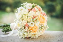 Beautiful Wedding Bouquet. Out...