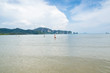 The Sea of PeePee i Iand under The Nice sky with luckey day..