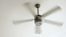 Ceiling Fan Is Rotating At The...