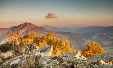Fototapeta Popularne Beautiful mountains in Poland - Bieszczady