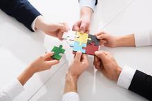 Teamwork Of Partners. Concept ...
