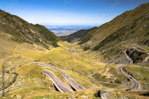 Fotografie, Obraz Transfagarasan / Trasa Transfogarska w Rumunii
