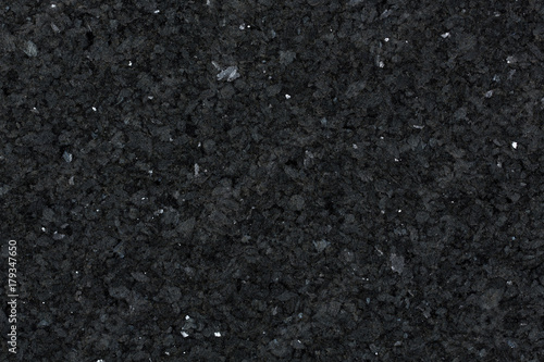 Door stickers Marble Detail view of black granite surface.