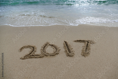 Photo  2017 in the sand