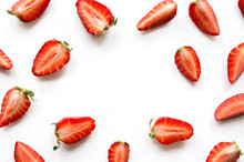 Strawberry Pattern With Copy S...
