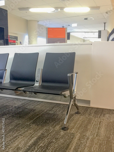 Fotografija Departure waiting area