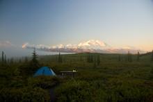 Mckinley, Denali Alaska Visto ...
