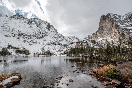 Keuken foto achterwand Bergen Lake Helene, Rocky Mountains, Colorado, USA.