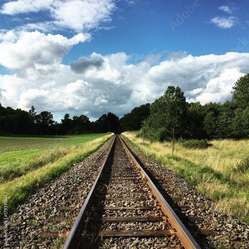 Cadres-photo bureau Voies ferrées railway