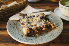 Close-up Piece Of Sweet Pie Wi...