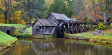 Mabry Mill, Blue Ridge Parkway...